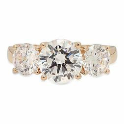 3.05ct Round Cut Engagement Wedding Promise Solitaire Ring S