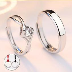 Fashion Couple Rings Stainless Steel Engagement Rings Weddin