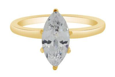 1 50 ct marquise cut solitaire diamond