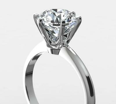 1 CARAT G NATURAL SOLITAIRE ENGAGEMENT RING GOLD