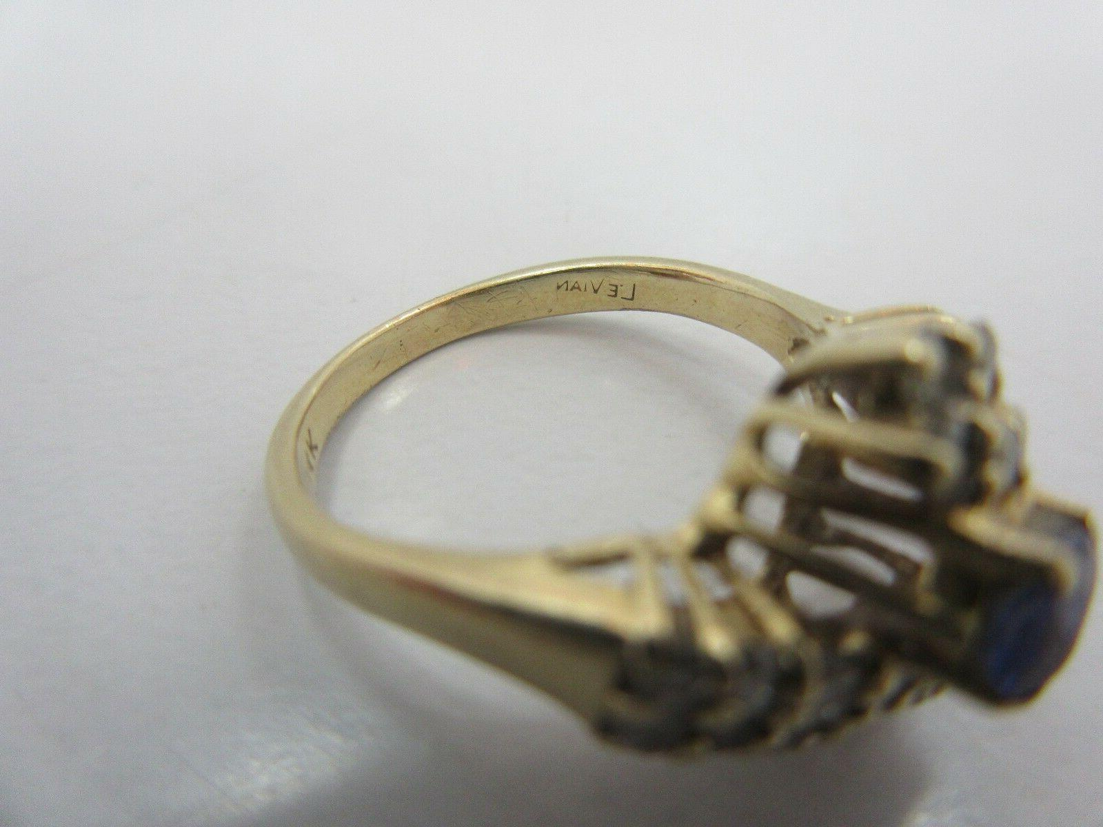 LeVian OVAL RING size 5.5