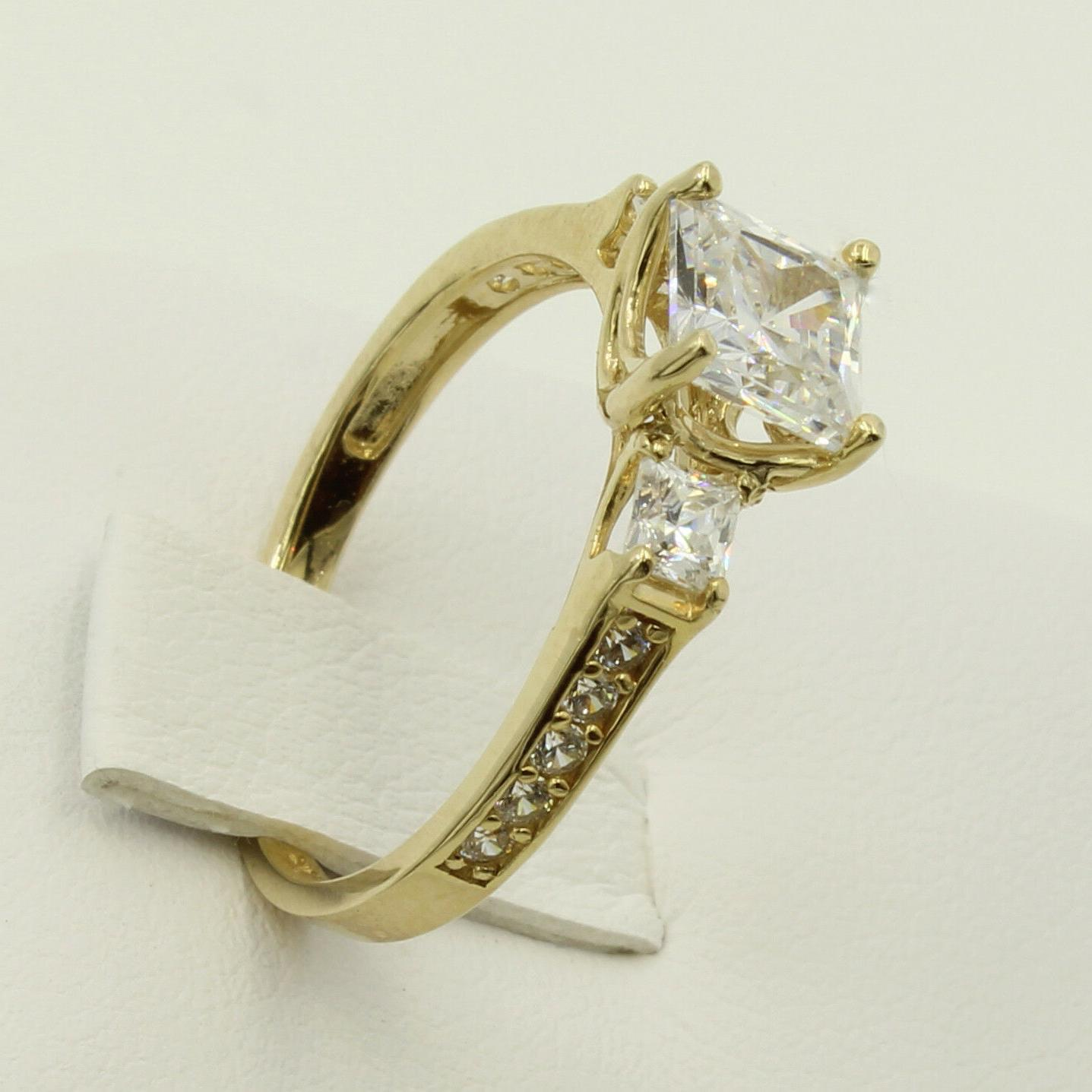 2.5 Yellow 3 Promise Ring
