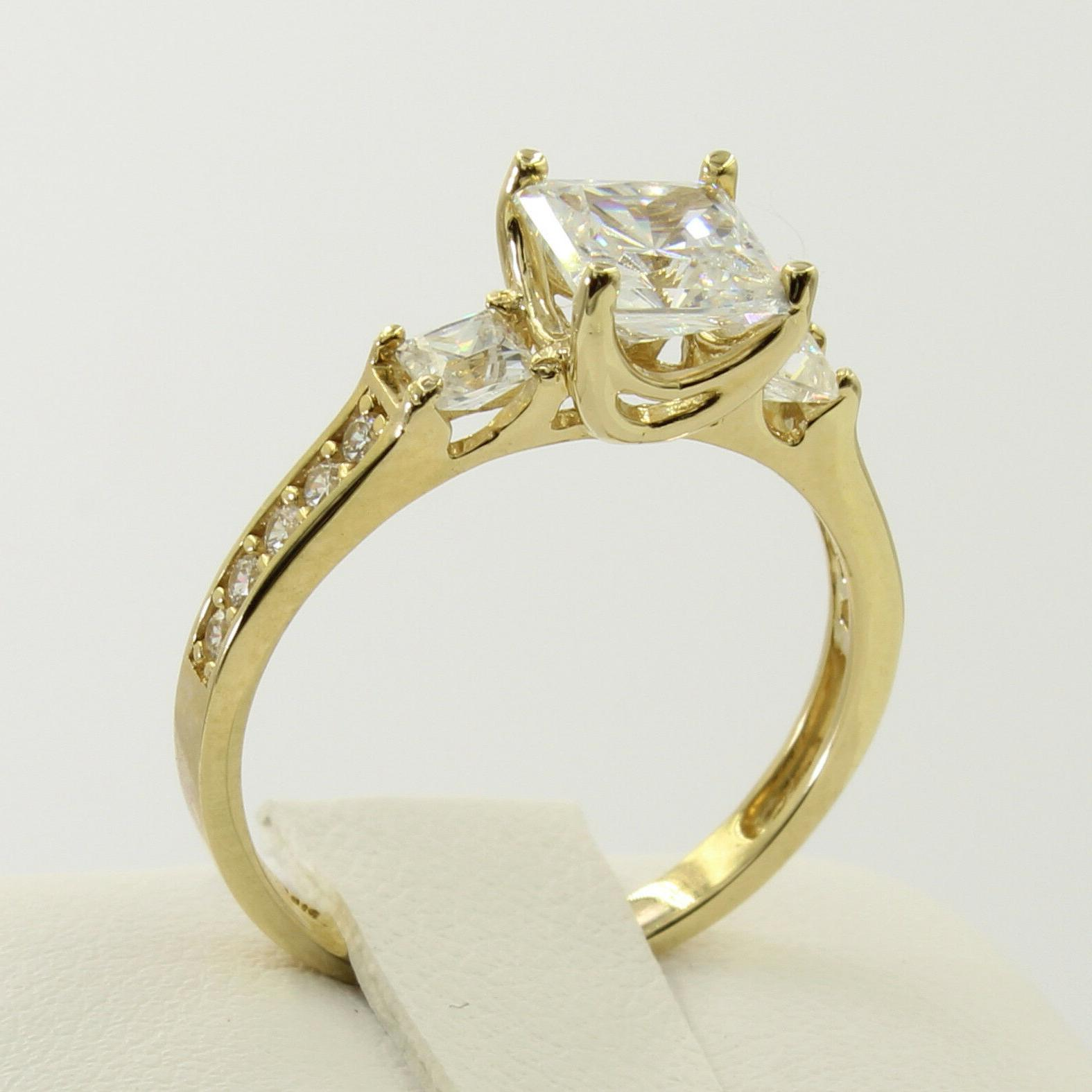 2 5 ct 14k real yellow gold