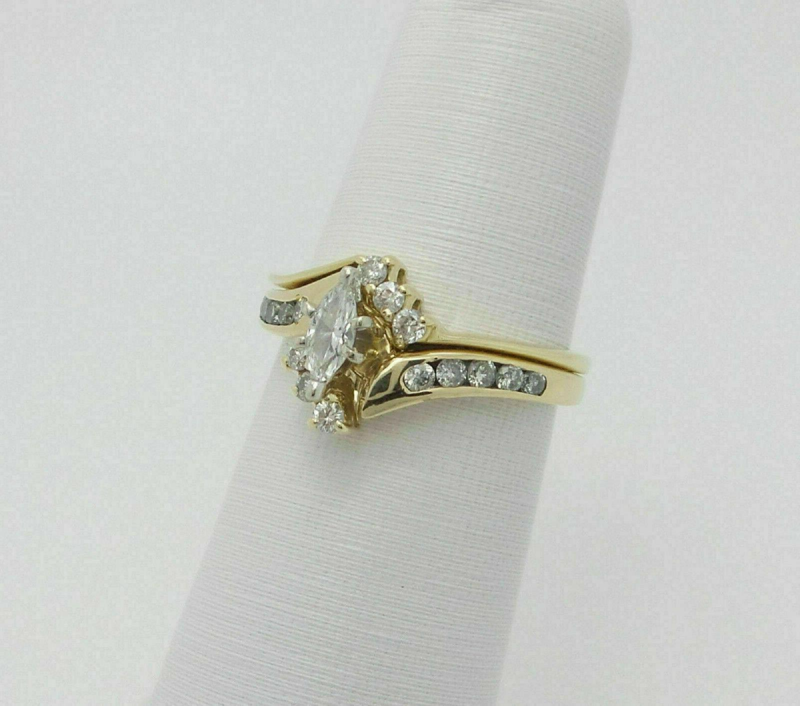 2.76Ct Solid 14K Yellow