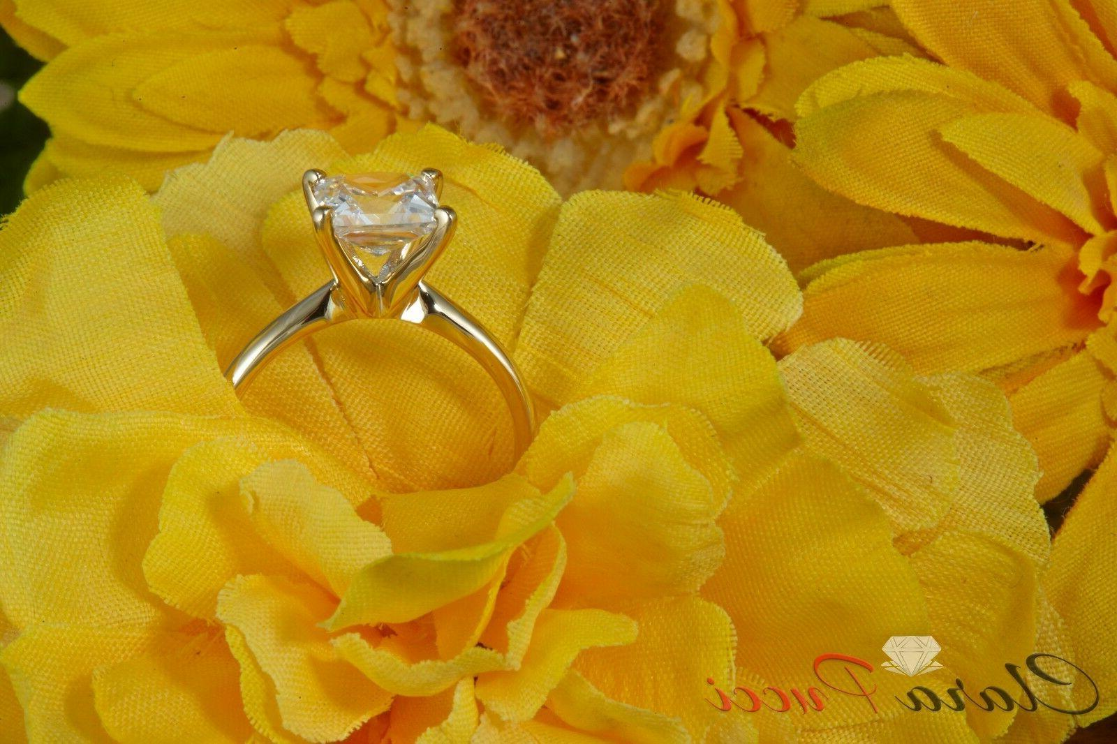 1.50 CUT SOLITAIRE RING REAL 14K