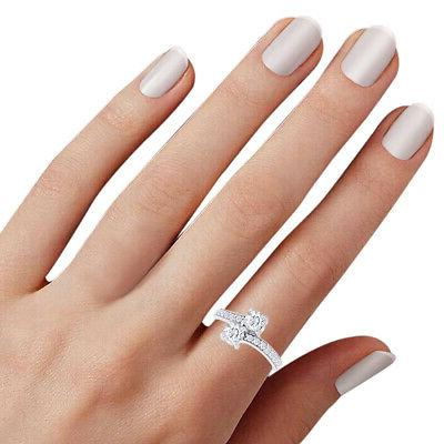 2 Ct For Us Stone Engagement Diamond Solitaire Ring 14K White