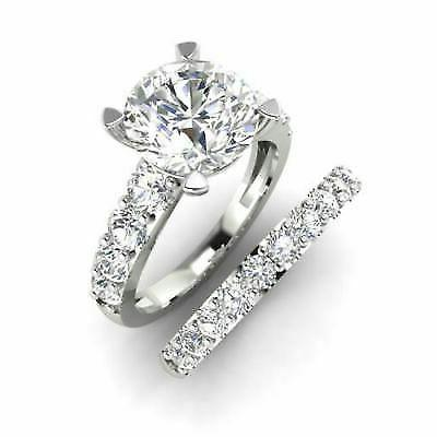 Certified 4.00Ct Engagement Wedding Solid
