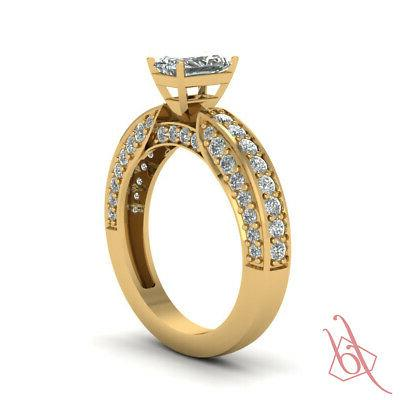 Pave Radiant Style Engagement For Women