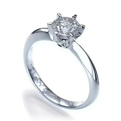promise 1 ct colorless diamond engagement ring