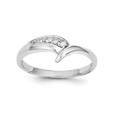 sterling silver rhodium plated diamond engagement ring