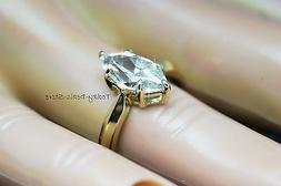 Marquise Cut Ring Anniversary Solitaire Engagement Wedding S