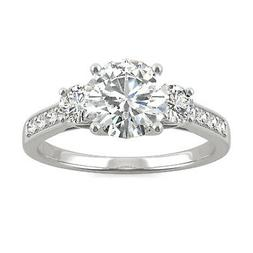 moissanite by charles and colvard 7 5mm