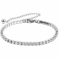 Shop LC Delivering Joy Stainless Steel Cubic Zirconia Classi